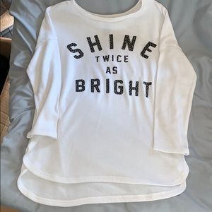 Girls light weight sweater